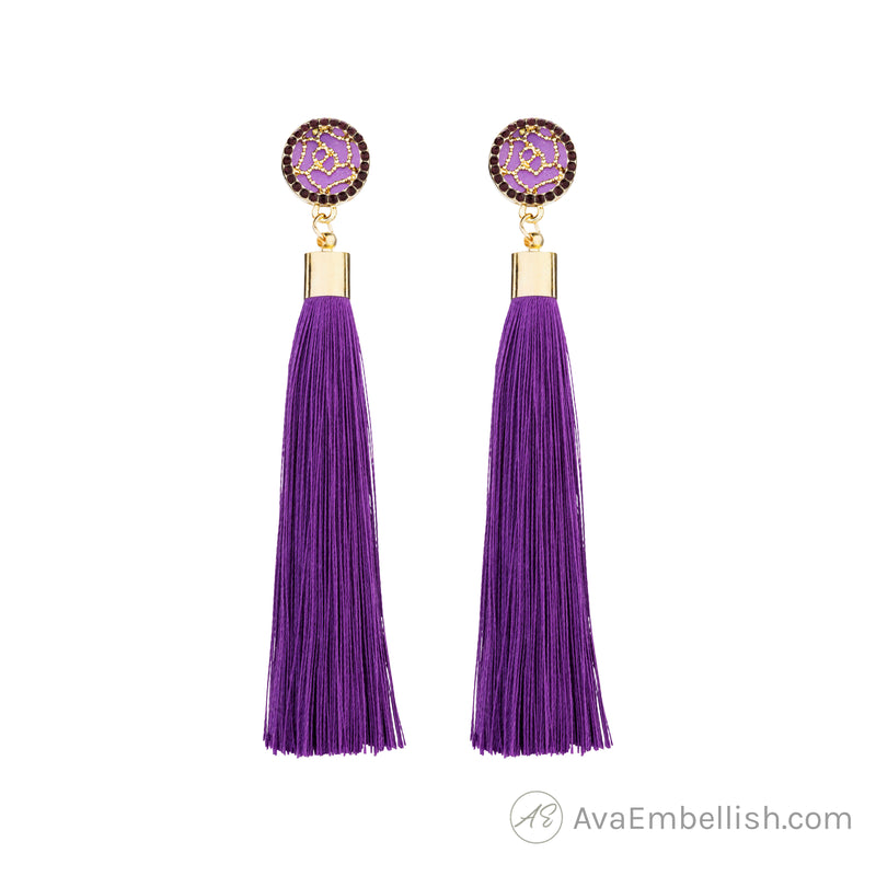 Purple Haze Tassels