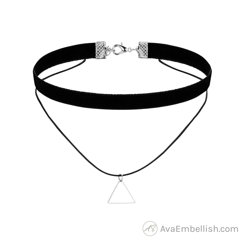Love Triangle Choker