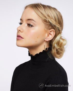 The Classic Gold Hoops
