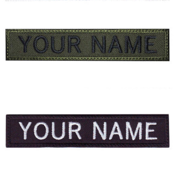 Custom Military Name Tape