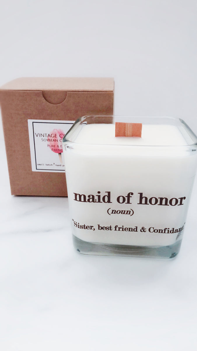 Maid of Honor Wedding Gift