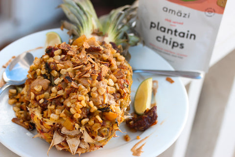 Amazi Pineapple Fried Rice