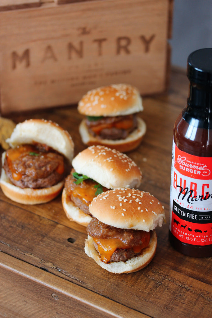 Charleston Burger Marinade Sliders With Bacon Jam Recipe