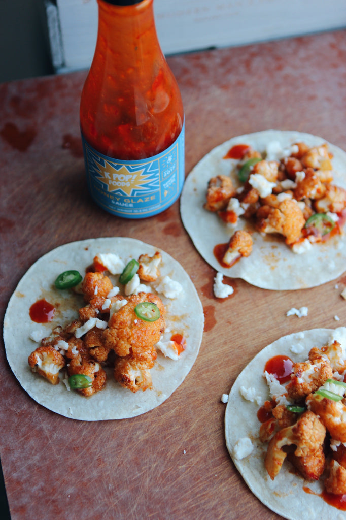 korean-honey-chili-cauliflower-tacos
