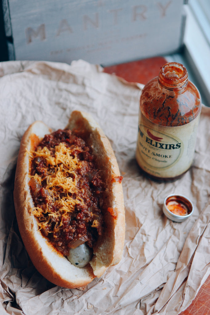 Smoky Chipotle Chili Dogs