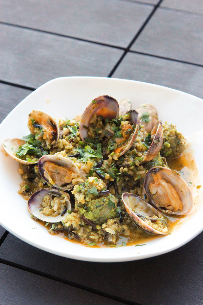 Chili-Lime Steamed Clams Recipe