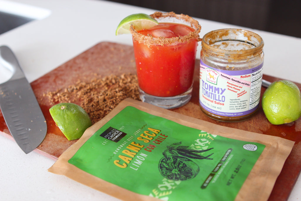 Red Snapper (Gin Bloody Mary) Mantry Recipe