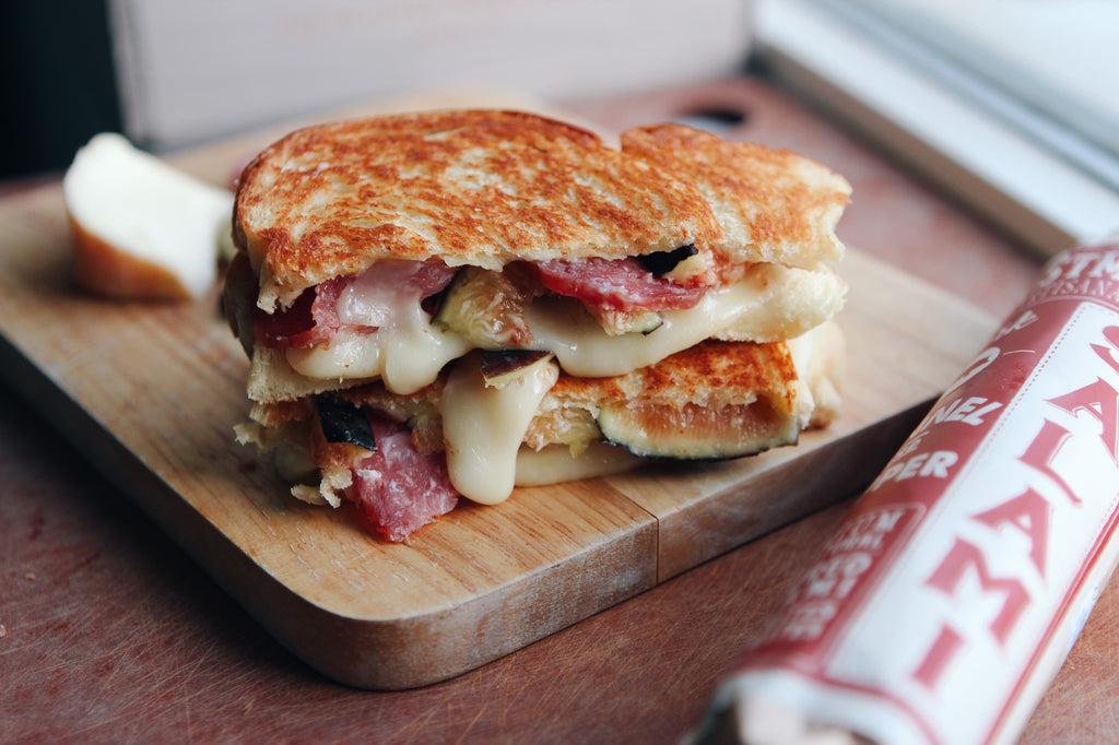 Foustman's Salami, Fig & Taleggio Grilled Cheese