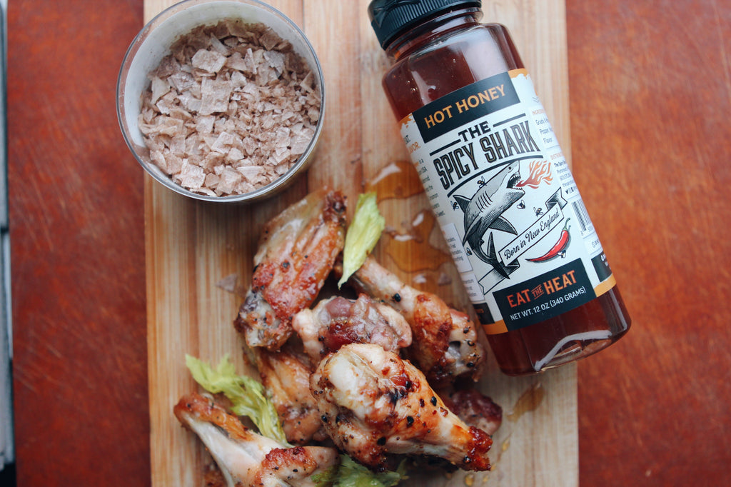 Smoked Salt & Hot Honey Dry Rub Wings