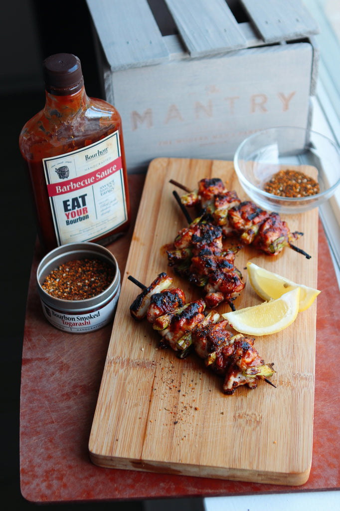 Bourbon Barbecue With Togarashi Spice