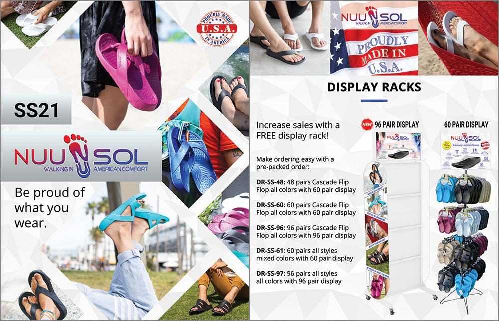 NuuSol Catalog Front and Display Options
