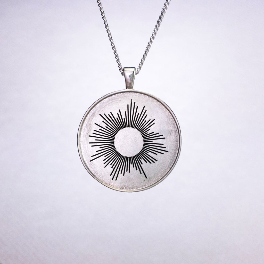 Noise Jewelry - Silver Pendant