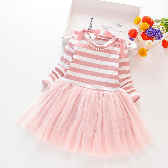 Crystal Striped Dress