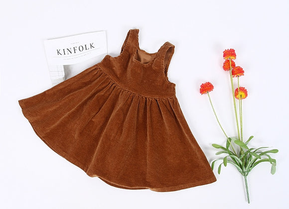 Autumn Corduroy Dress
