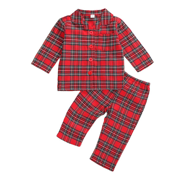 Plaid Jammies