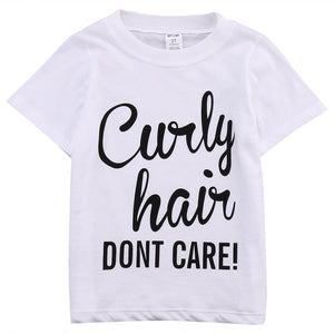 Curly Hair Don't Care Tee