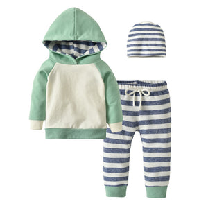 Kenny Striped Jogger Set