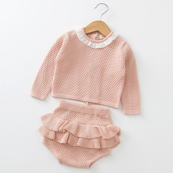 Dawn Ruffle Set
