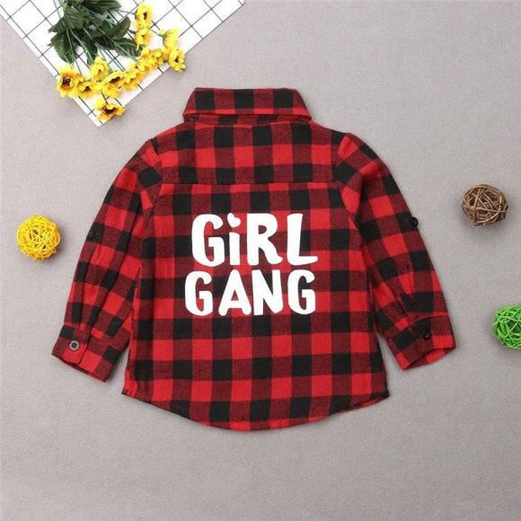 Girl Gang Matching Shirts