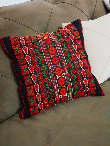 Embroidered cushion - Falastini Brand