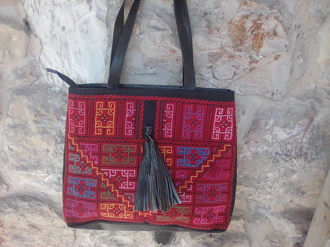 Embroidered handbag - Falastini Brand