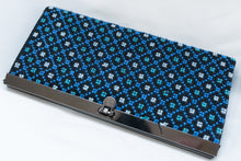 Blue wallet embroidery - Falastini Brand