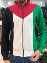 Palestinian Flag Zip Up Hooded Sweatshirt Jacket