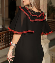 Espanion Style Black Or White Amazing Palestinian Embroidered Long Dress