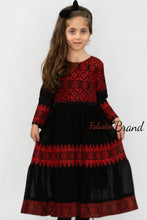 Little Girl Palestinian Embroidered Dress