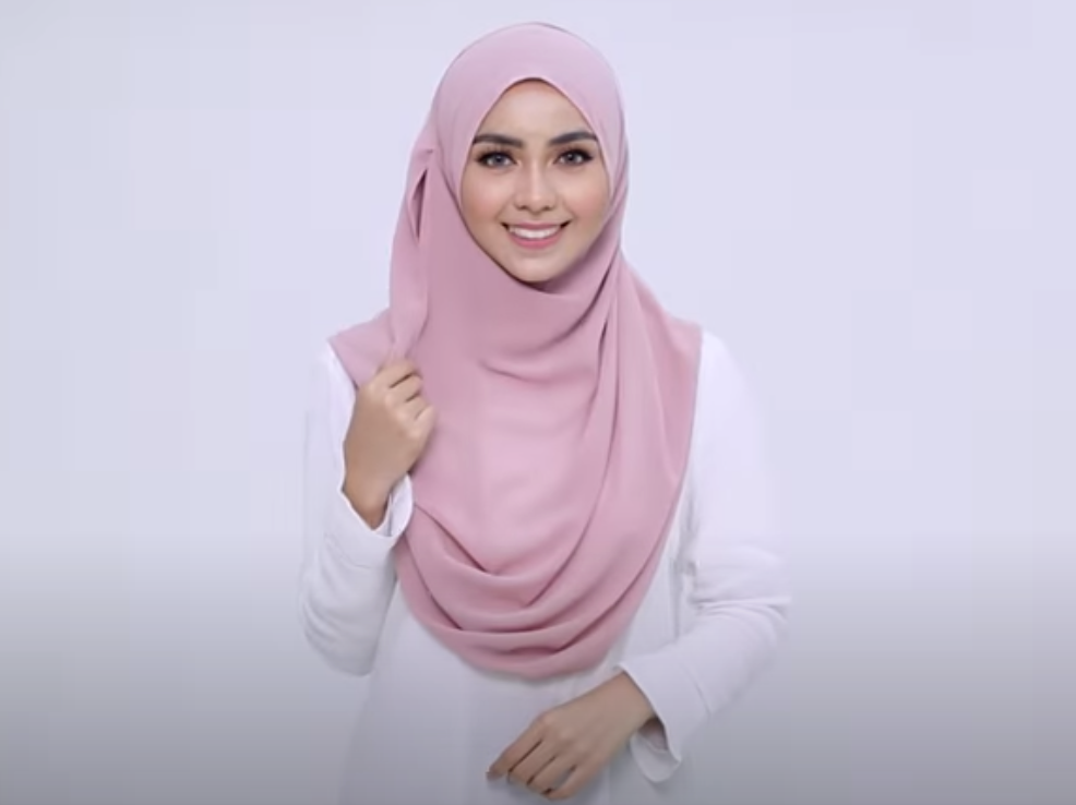 The Amazing Instant Hijab High Quality Ready Made Hijab Islamic Scarf