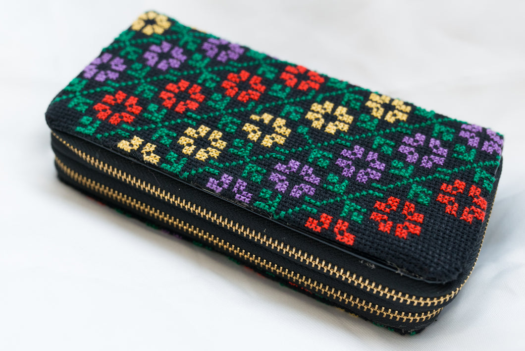 Embroidered wallet - Falastini Brand