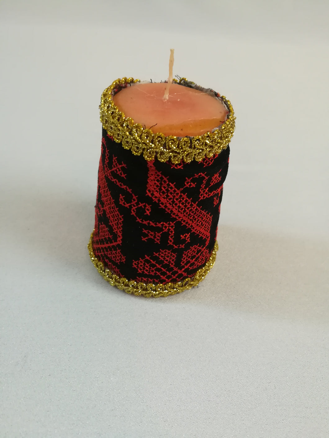 Embroidered candle cover - Falastini Brand