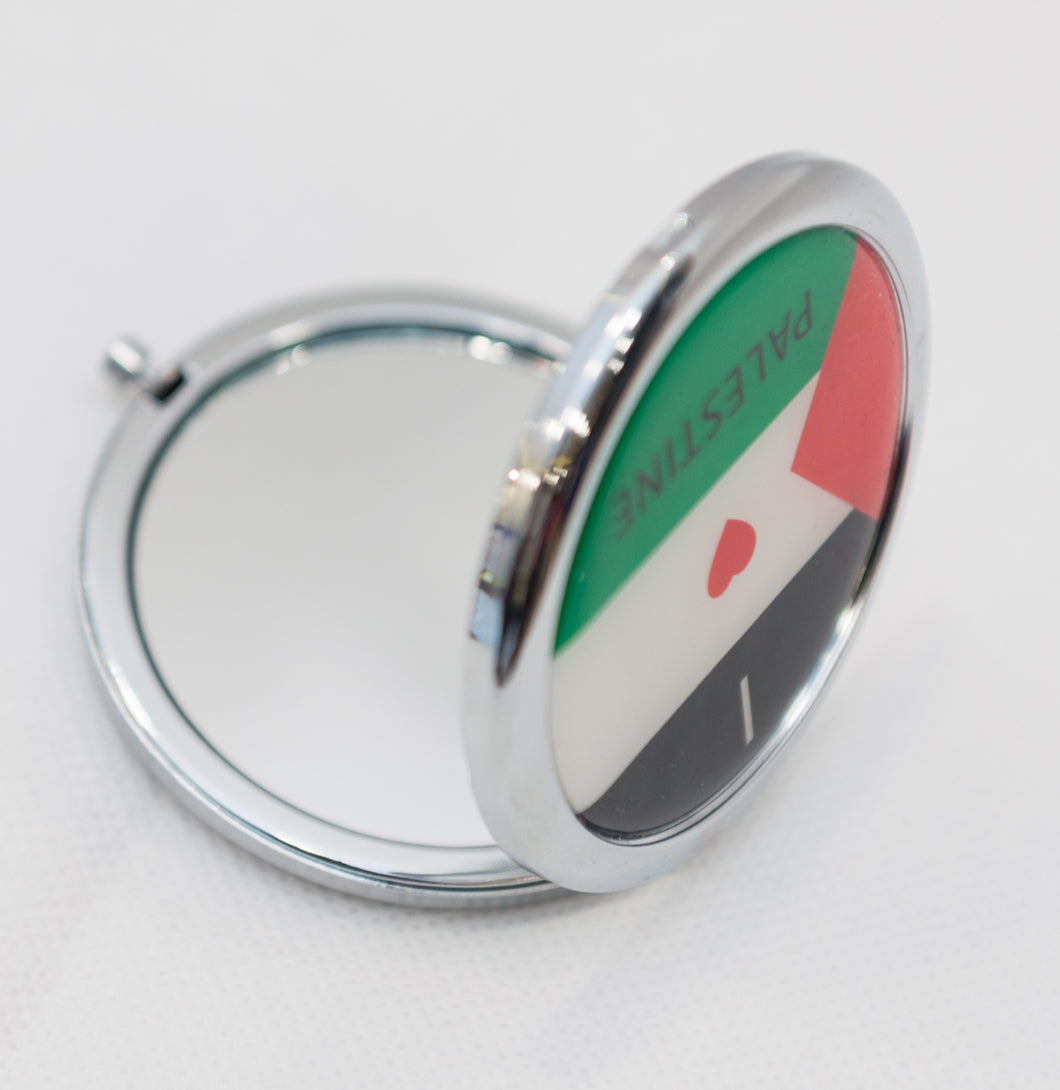 Mirror with I Love Palestine - Falastini Brand