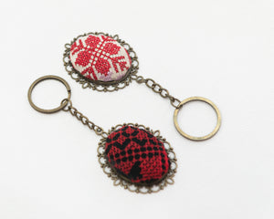 Embroidered keychains - Falastini Brand