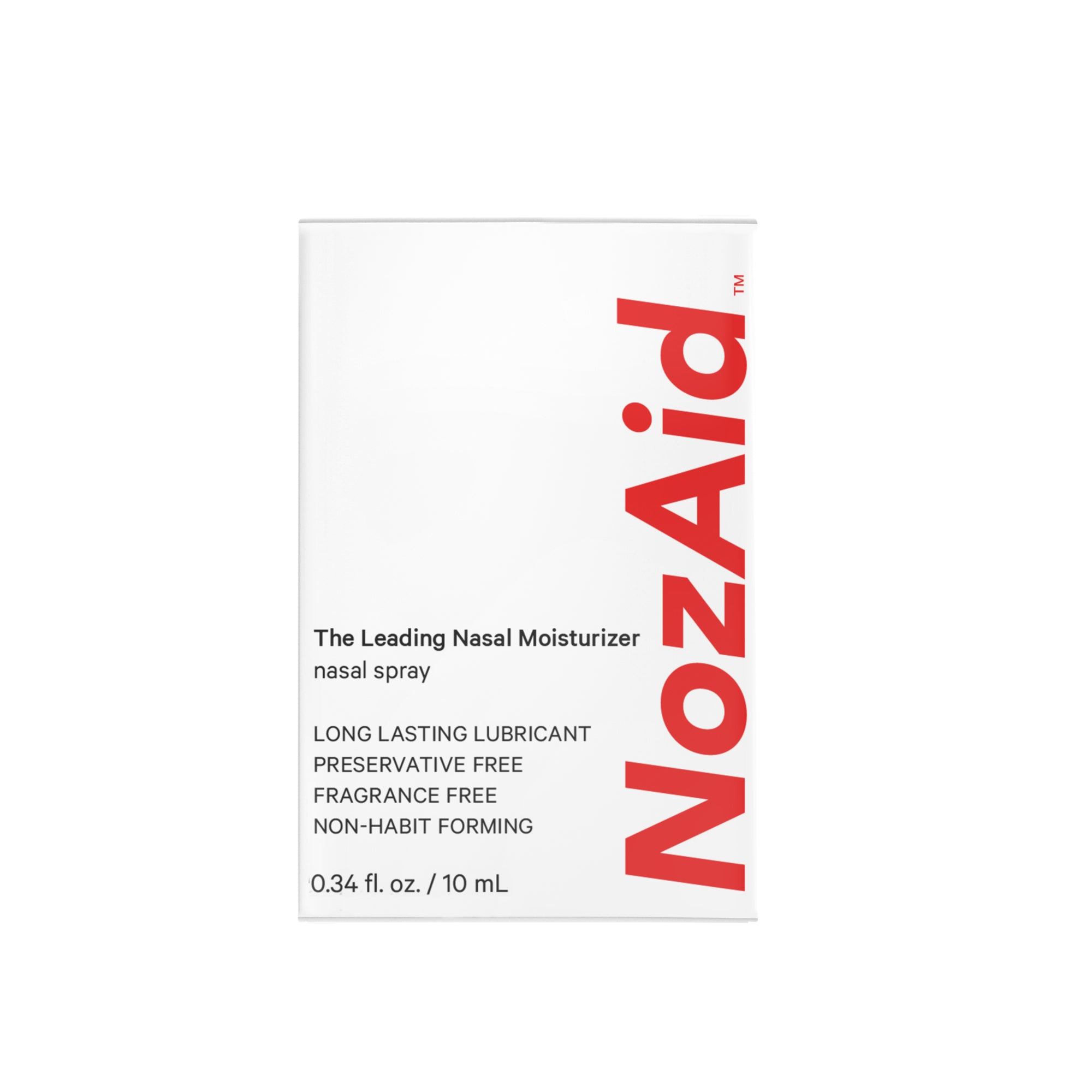 NozAid Nasal Moisturizer for Dry Nasal Passages