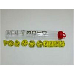 10-Set Htubetr Yellow & White Accessories Koplow
