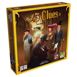 13 Clues Multicolor Board Game CMON