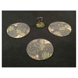 3 inch Area of Effect Markers Forest Miniatures Muse On, LLC