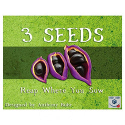 3 Seeds Reap Where You Sow Card Game CLEARANCE Chara Games, LLC