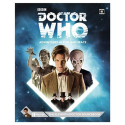 Dr. Who: Eleventh Doctor Sourcebook Role Playing Games Cubicle 7 Entertainment Ltd.