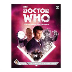 Dr. Who: Tenth Doctor Sourcebook Role Playing Games Cubicle 7 Entertainment Ltd.