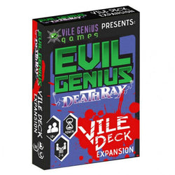 Evil Genius: Deathray: The Vile Deck CLEARANCE Vile Genius Games