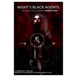 Gumshoe: Nights Black Agents Role Playing Games Pelgrane Press