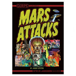Gurps Mars Attacks Role Playing Games Steve Jackson Games
