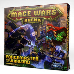 Mage Wars: Forcemaster vs. Warlord Exp Board Game Arcane Wonders