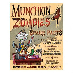 Munchkin Zombies 4: Spare Parts Card Game Steve Jackson Games