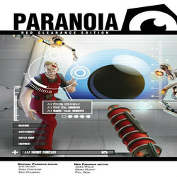 Paranoia: Core Starter Set Role Playing Games Mongoose Publishing