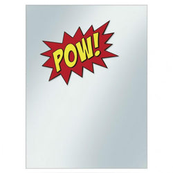 """POW"" Printed Deck Protector Covers CLEARANCE Ultra Pro"