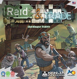 Raid & Trade Board Game CLEARANCE Ninja Division Publishing