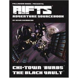 Rifts: Chi-Town 'Burbs: The Black Vault Role Playing Games Palladium Books
